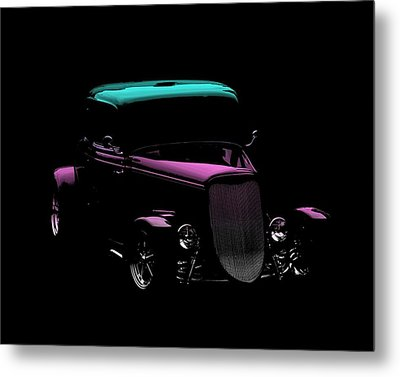 Classic Car Metal Print featuring the photograph Classic Minimalist by Aaron Berg