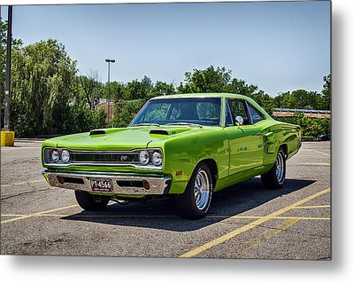 Classic Muscle Metal Print by Sennie Pierson