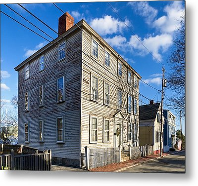 Classic New England Architecture Metal Print by Mark E Tisdale