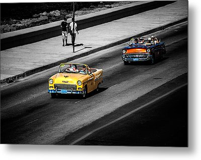 Classic Old Cars V Metal Print by Patrick Boening