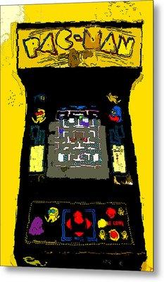 Classic Pacman Metal Print by David Lee Thompson
