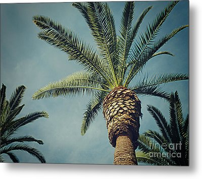 Metal Print featuring the photograph Classic Palms2 by Meghan at FireBonnet Art