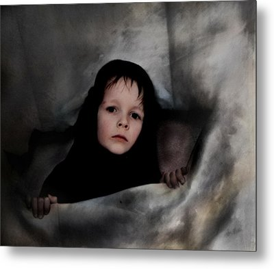 Classic Portrait Of A Son Metal Print