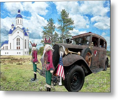 Metal Print featuring the photograph Classic Ride by Liane Wright