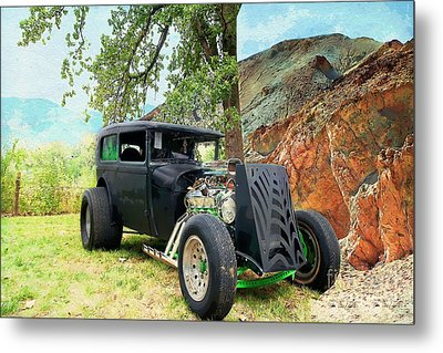 Metal Print featuring the photograph Classic Rod by Liane Wright