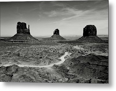 Classic West Metal Print by Benjamin Yeager
