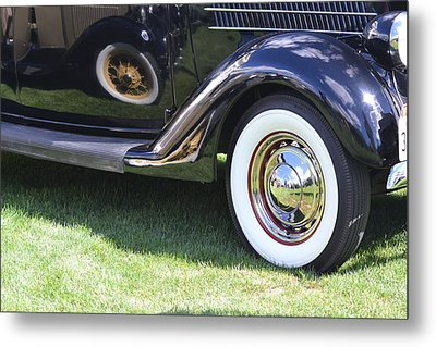 Classic Wheels Metal Print