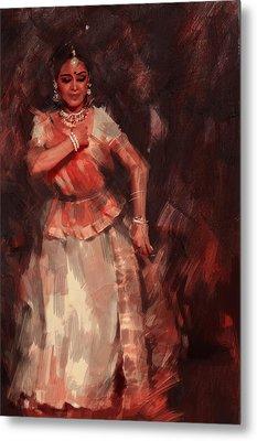 Classical Dance Art 18b Metal Print by Maryam Mughal