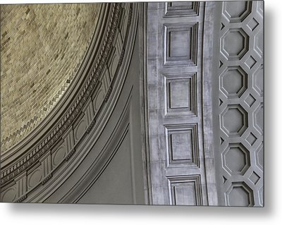 Classical Dome And Vault Details Metal Print by Lynn Palmer