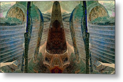 Classified Metal Print by WB Johnston