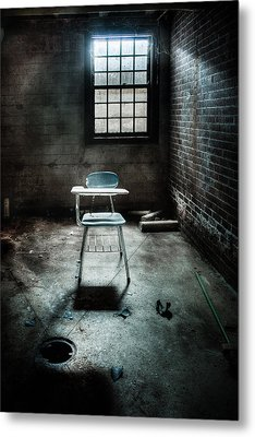 Classroom - School - Class For One Metal Print by Gary Heller