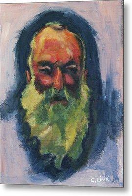 Claude Monet Self Portrait Metal Print