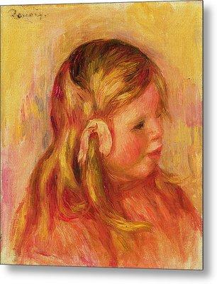 Claude Renoir Metal Print