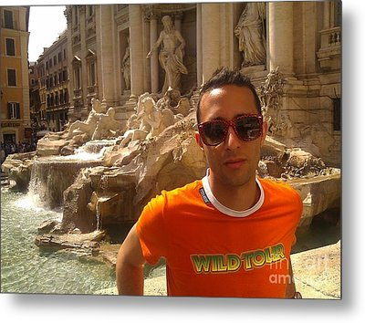 Claudio In Rome Metal Print by Ted Williams
