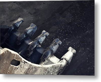 Claw - Industrial Photography By Sharon Cummings Metal Print by Sharon Cummings