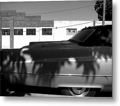 Claws On The Coupe Deville Metal Print by Paul Foutz