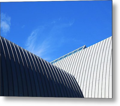 Clean Lines - Architectural Photography By Sharon Cummings  Metal Print by Sharon Cummings