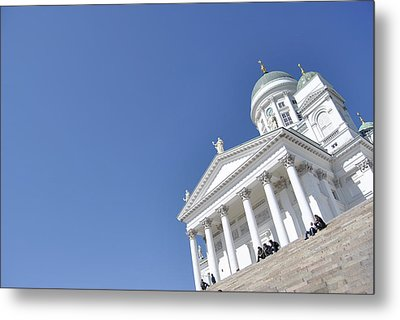Clear Day At The Dom Metal Print by Frederico Borges