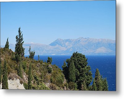 Metal Print featuring the photograph Clear Day by George Katechis