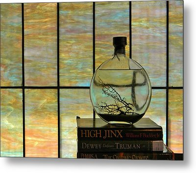 Clear On Color Metal Print by Jean Goodwin Brooks