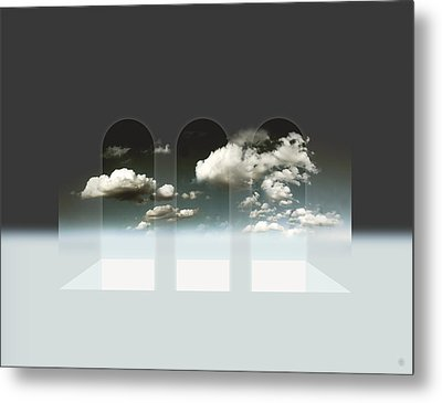 Clear Window Metal Print by Florin Birjoveanu