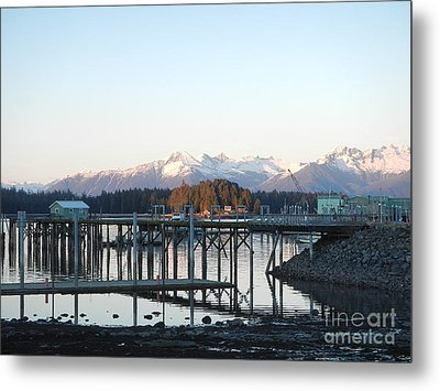Clear Winter's Day Metal Print
