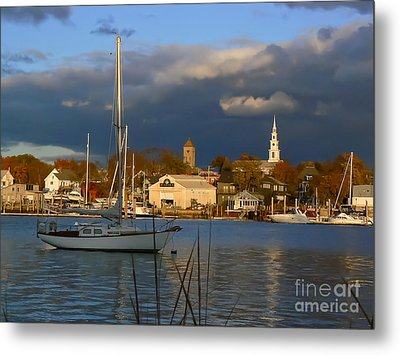 Clearing Metal Print by Butch Lombardi