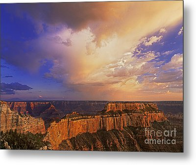 Clearing Storm Cape Royal North Rim Grand Canyon Np Arizona Metal Print