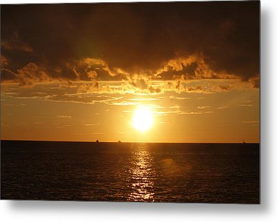 Clearwater Sunset Metal Print by Ivete Basso Photography