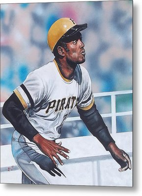 Clemente Metal Print by D A Nuhfer