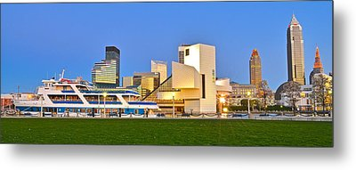 Cleveland Icons Metal Print by Frozen in Time Fine Art Photography