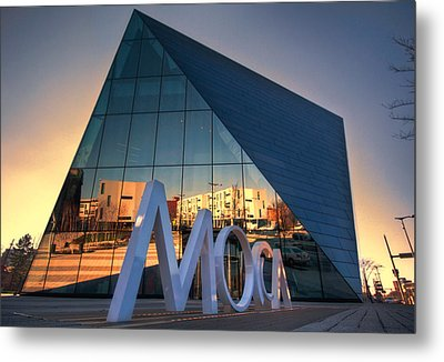 Metal Print featuring the photograph Cleveland Museum Of Modern Art by Brent Durken