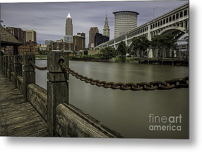 Cleveland Ohio Metal Print by James Dean