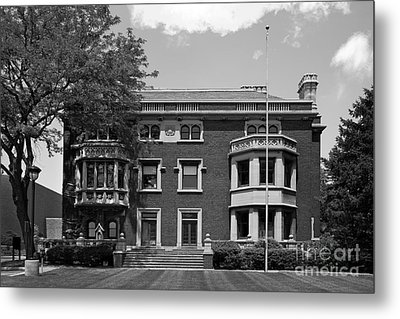 Cleveland State University Mather Mansion Metal Print