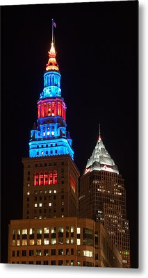 Cleveland Towers Metal Print