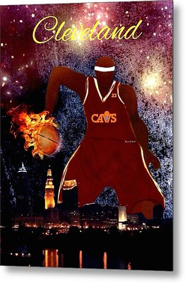 Cleveland Two Metal Print