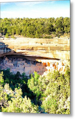 Cliff Palace Study 1 Metal Print