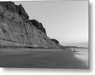 Metal Print featuring the photograph Cliffs At Torrey Pines Beach by Scott Rackers