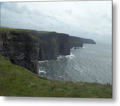 Cliffs Of Moher II Metal Print