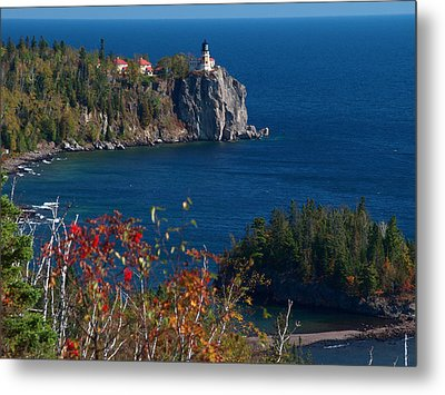 Cliffside Scenic Vista Metal Print by James Peterson
