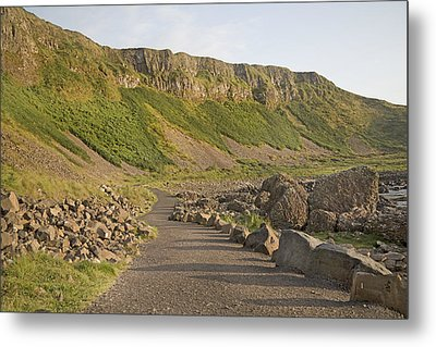 Cliffway Path -- Giant's Causeway -- Ireland Metal Print by Betsy Knapp