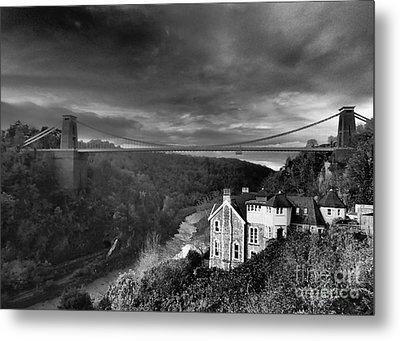 Clifton Suspension Bridge Metal Print by Michael Canning
