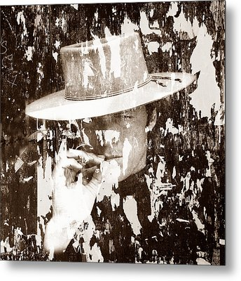 Clint Eastwood 1 Metal Print by Andrew Fare