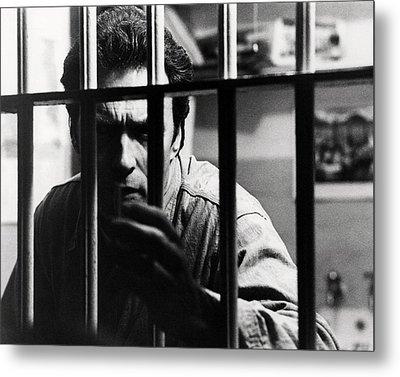 Clint Eastwood In Escape From Alcatraz  Metal Print
