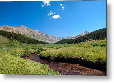 Metal Print featuring the photograph Clinton Gorge  by Eric Rundle