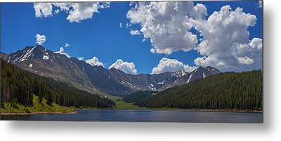 Clinton Gulch Summer Metal Print