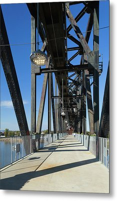 Clinton Presidential Park Bridge Metal Print by Panoramic Images