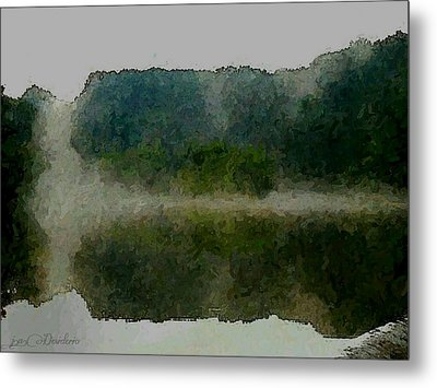 Cloaked Fluidity Metal Print