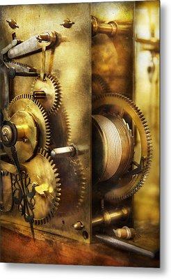 Clockmaker - We All Mesh Metal Print by Mike Savad