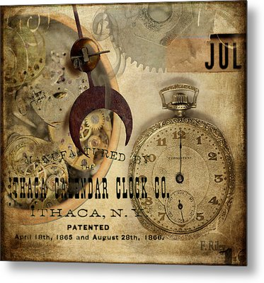 Clockworks Metal Print by Fran Riley
